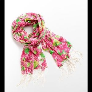 Lilly Pulitzer Murfee Scarf in Maryland Print